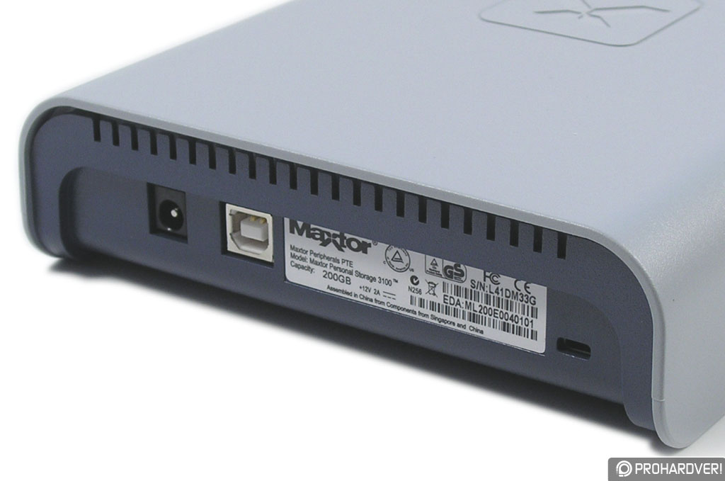 MAXTOR PERSONAL STORAGE 3100 DRIVER FOR WINDOWS