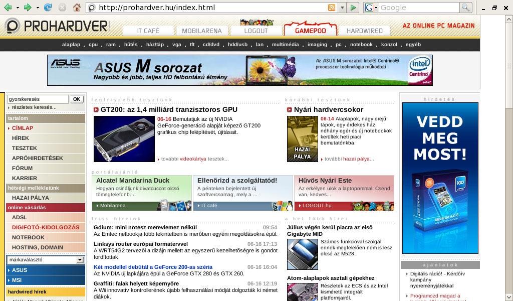 Acer Aspire One netbook - PROHARDVER! Notebook teszt - Nyomtatóbarát ... d4a06463e1