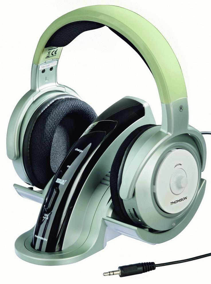 Vezeték nélküli Thomson fejhallgatók - PROHARDVER! Életmód hír 3a1e4d7d7b