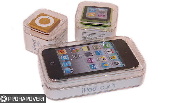 new iPod models in 2010