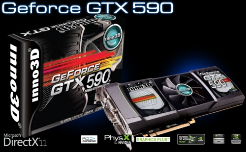 Inno3D GeForce GTX 590