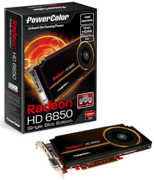 PowerColor Radeon HD 6850 Single Slot Edition