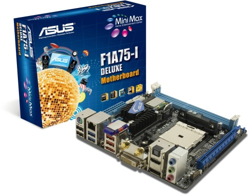 ASUS F1A75-I Deluxe alaplap