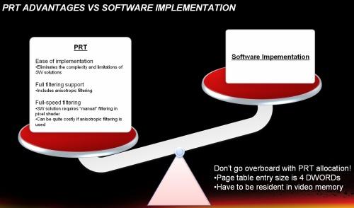 A PRT előnyei a szoftveres implementációhoz viszonyítva