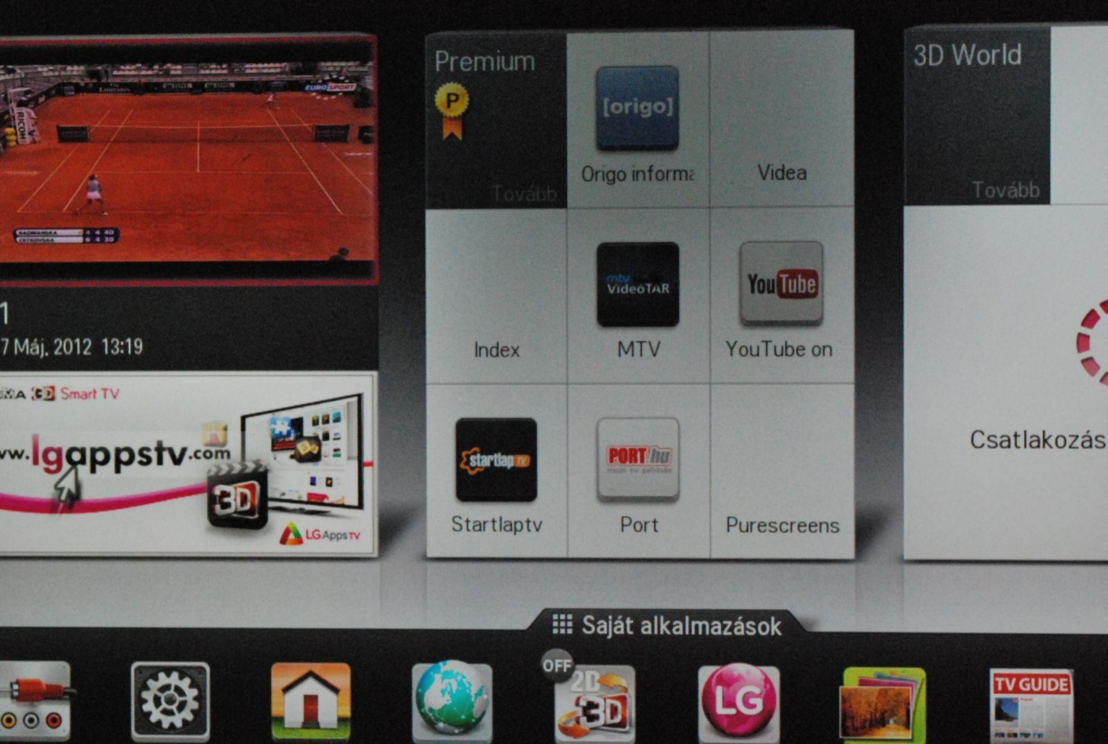 LG 47LM765S  ilyenek lesznek az LG tévék idén - PROHARDVER! TV ... a9b460606d