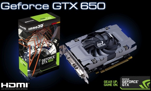 Inno3D GeForce GTX 650