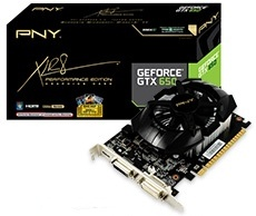 PNY GeForce GTX 650