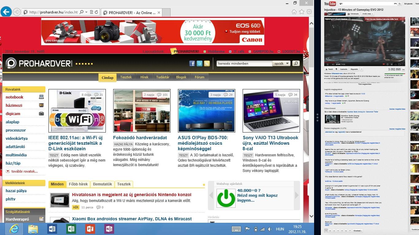 ingyenes webhelyek felcsatolására