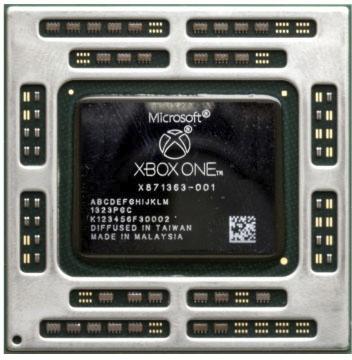 Az Xbox One APU-ja