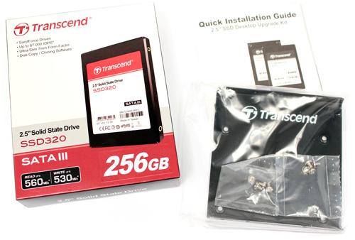 Transcend SSD320 memória-alapú tároló teszt