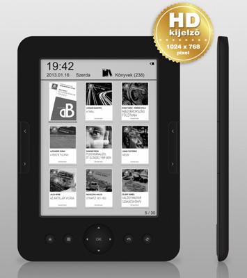 e-könyv olvasók teszt: WayteQ xBook-60w HD
