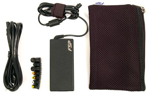 laptop töltő univerzális - FSP a tesztasztalon
