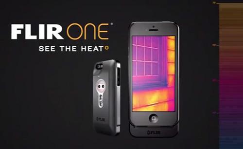 (videó) Flir System alkalmazás - hőkamera házilag iPhone-ból