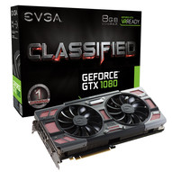 EVGA GeForce GTX 1080 SC, FTW és Classified ACX 3.0