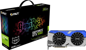 Palit GeForce GTX 1080 Super JetStream és GameRock