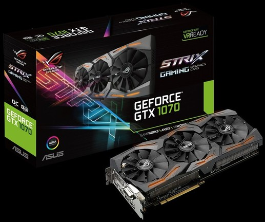 ASUS ROG Strix GeForce GTX 1070