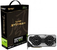 Palit GeForce GTX 1070 JetStream és GameRock