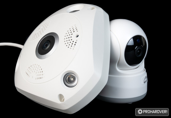 Media-Tech Cloud IP CAM 360 és Cloud Securecam