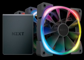 NZXT HUE 2 RGB Lighting Kit és Aer RGB 2 Starter Kit