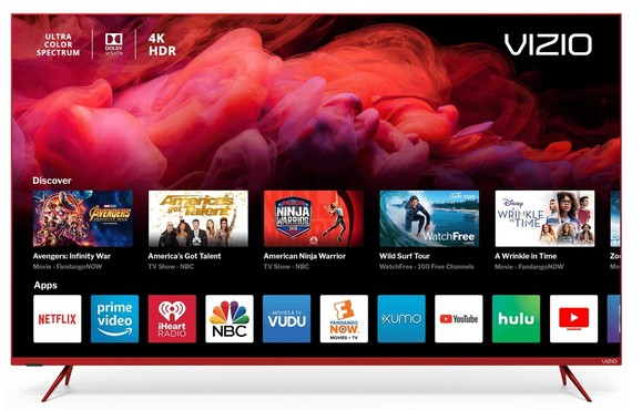 Vizio Red TV