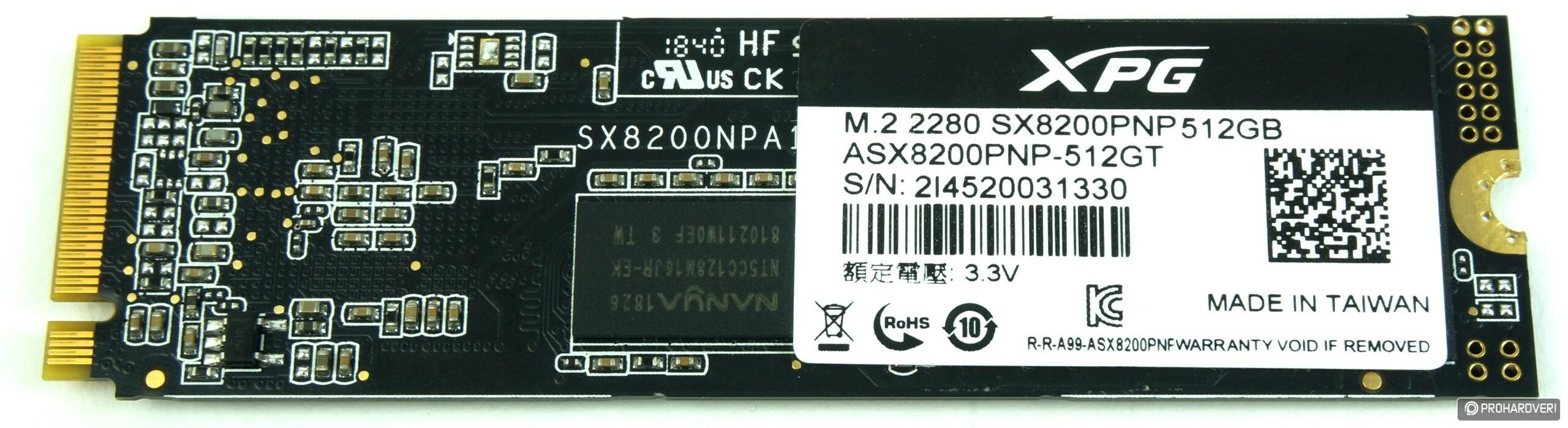 Megfizethető villám: ADATA XPG SX8200 Pro SSD tesztje