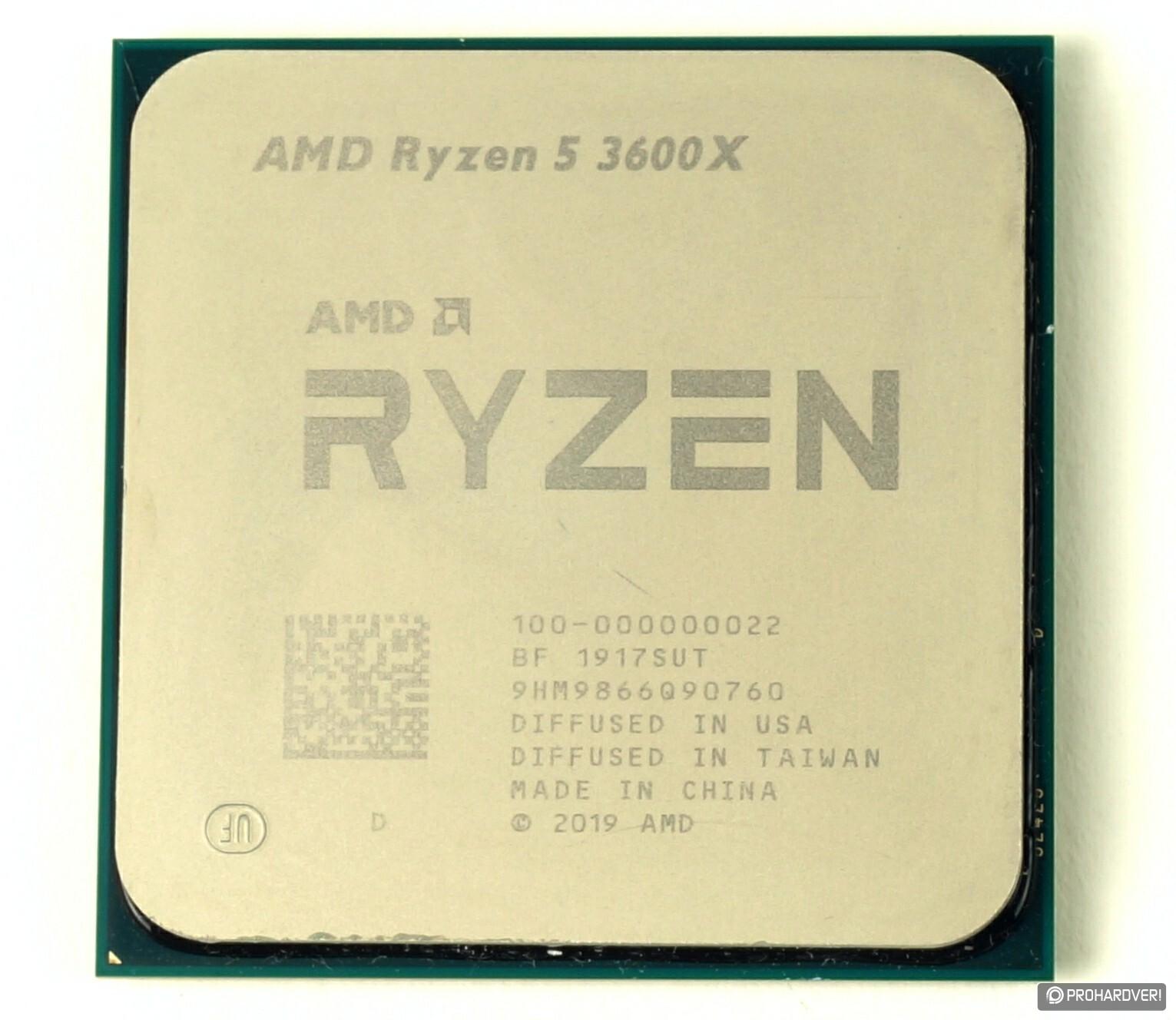 Bemutatkozik a Ryzen 5 3600X processzor - PROHARDVER