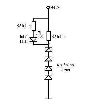 Zener dioda jele