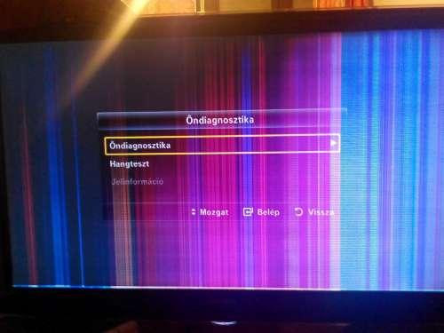 06f9f48641 Hello! Samsung LE46B6000 vízszintesen fix fehér csíkok, függőlegesen  elmászkáló színes csíkok jelennek meg. Ez Tuti kijelző hiba? vagy lehet  t-con is?