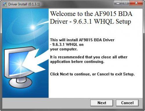 AF9015 DRIVERS