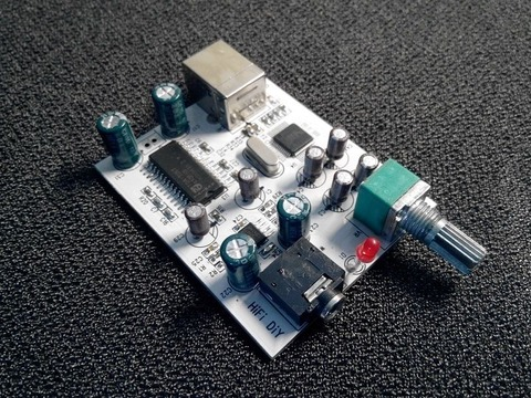 2. CM108 + TDA1305T + TDA1308 3.5mm Output USB Amp USB Sound Card DAC  Decoder 5V 4502bf815c
